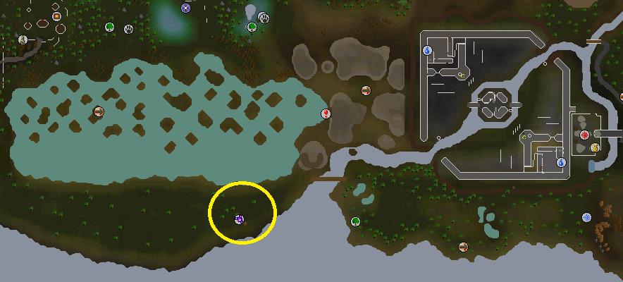 Poison Waste location