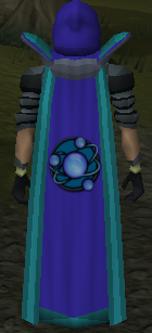 The skillcape of Divination