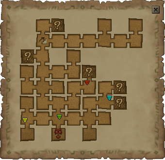 A typical map dungeon