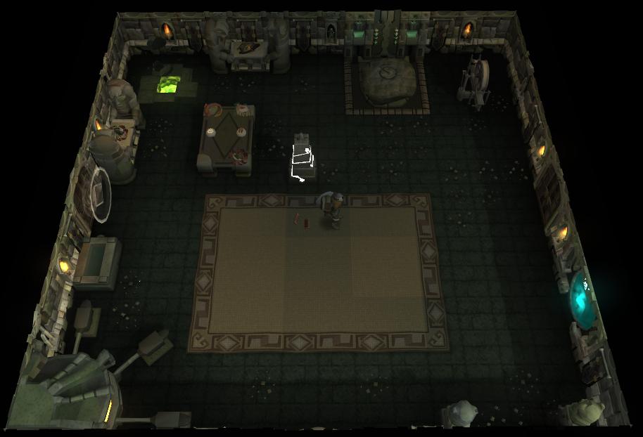 The Smuggler's Room