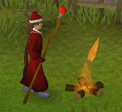 A hot fire!