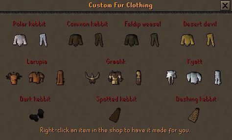 Custom Fur Clothing