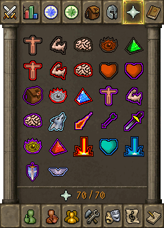 The prayer interface