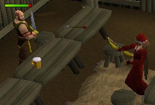 Ranging a Barbarian