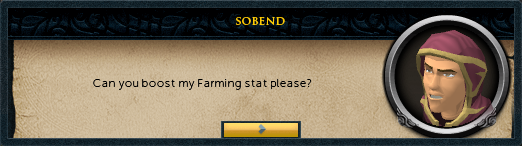 Can you boost my farming stat please?