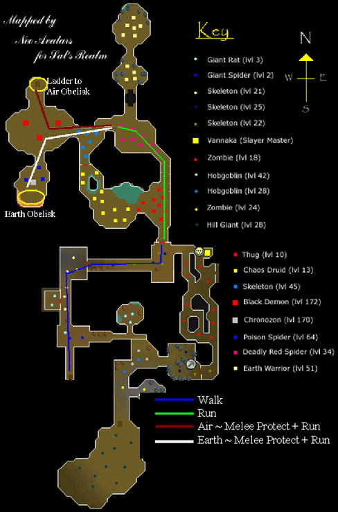 Battle staff map