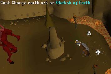 Earth obelisk