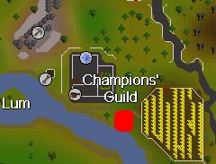 Champ's guild canoe station
