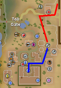 Map to Al Kharid Cactus patch