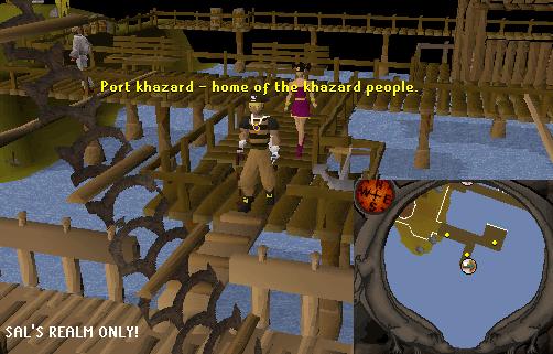 Port Khazard Docks