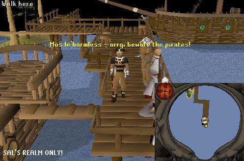 Mos Le'Harmless Dock