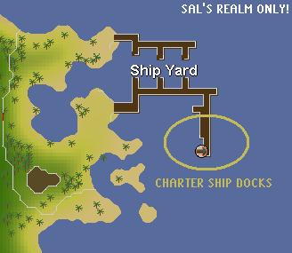 Charter Ship Docks