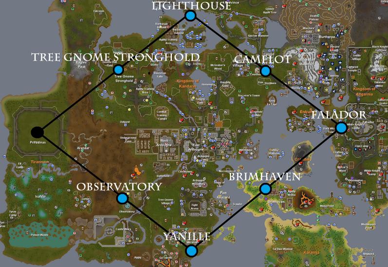 Crystal Tree Locations