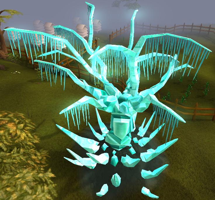 Inactive tree