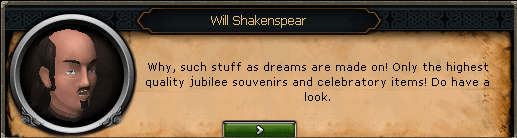 Will Shakenspear: Why, such stuff as dreams are made on!