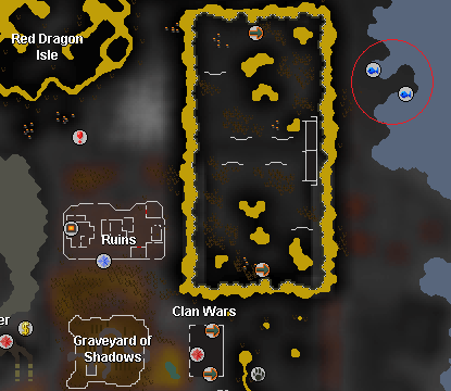 Fishing spots in the wilderness