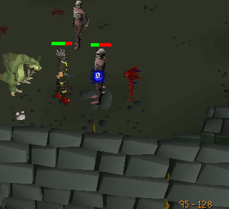 Training slayer in the Chaos Tunnels