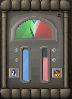 The controls menu