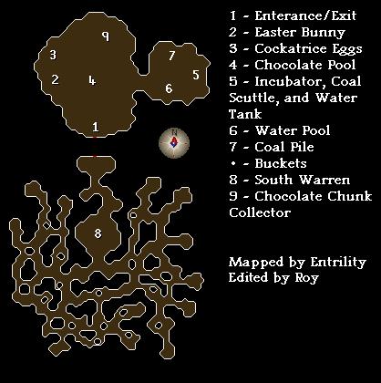 A map of the underground warren