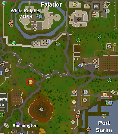 Map of the start point for Splitting Heirs