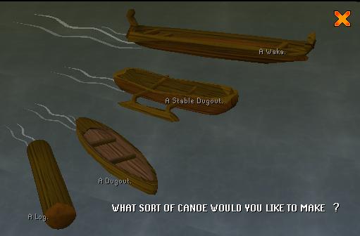 Canoe types