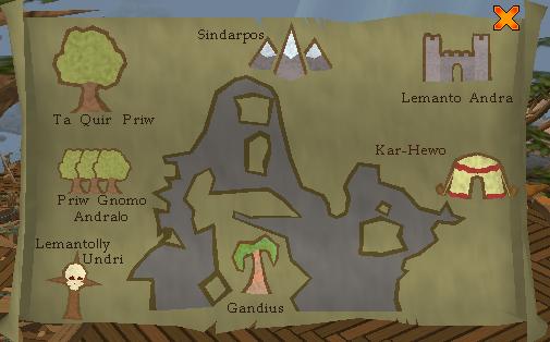 Gnome glider locations