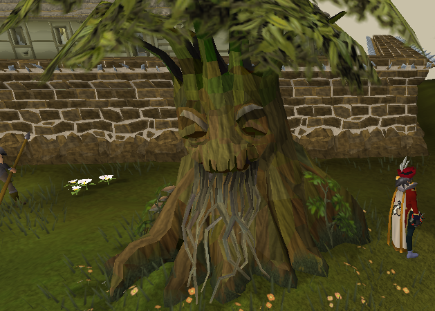 Spirit Tree in the battlefield of Khazard