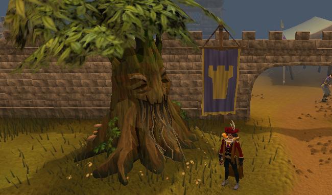 Spirit Tree at the Mobilising Armies minigame