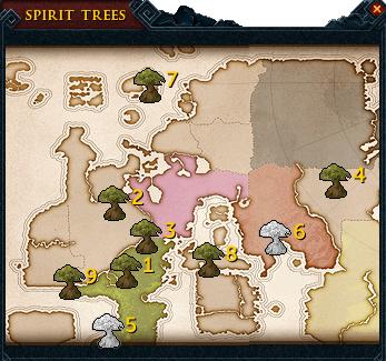 Spirit Tree: Where would you like to go?
