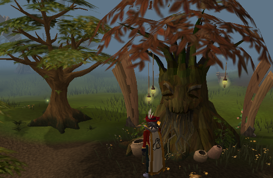 Spirit Tree in the Tree Gnome Stronghold