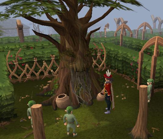 Spirit Tree in the Tree Gnome Village