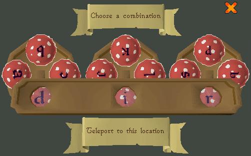 Choose a combination