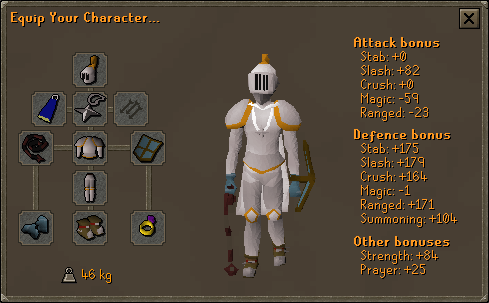 Suggested Proselyte/initiate equipment
