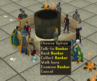 A banker found in the Grand Exchange
