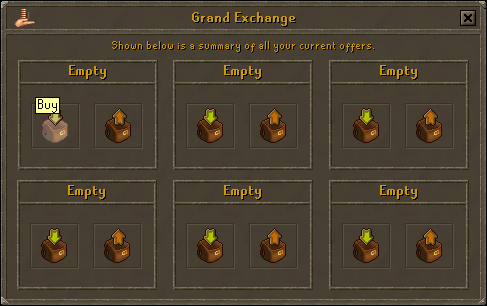 "Choose the ""buy"" option"