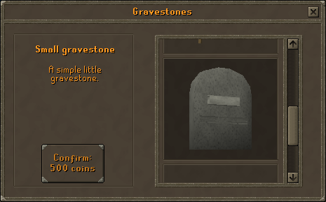 Small Gravestone - A simple little gravestone.