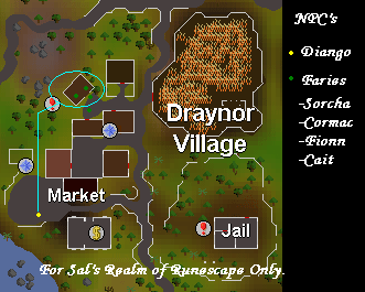 Diango's Workshop map