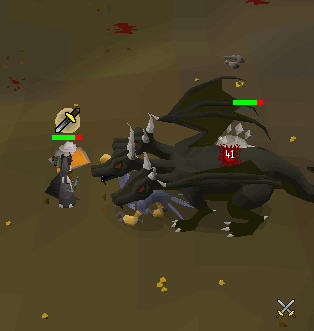 Fighting the KBD solo!