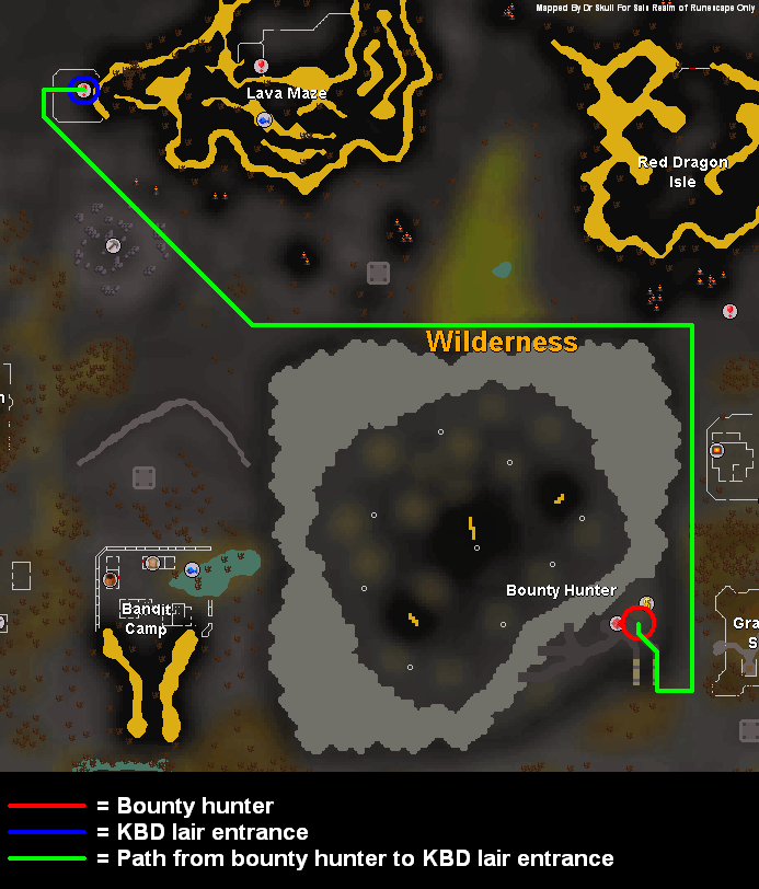Tip: King Black Dragon Hunting | Sal's Realm of RuneScape