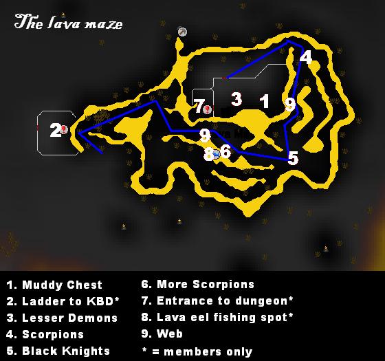 Tip: Lava Maze | Sal's Realm of RuneScape