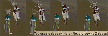 Sharing a potion