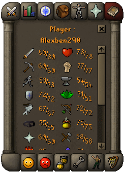 An opponent's stats