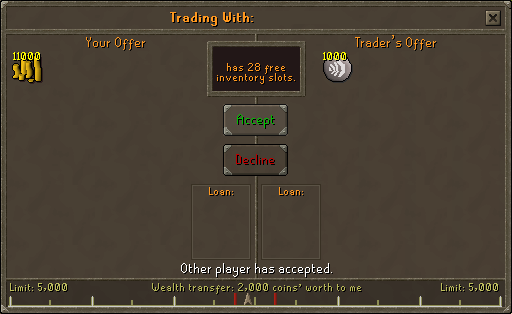 Trading air runes for money