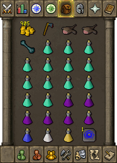 Suggested Melee Inventory