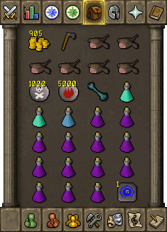 Suggested Ranged Inventory