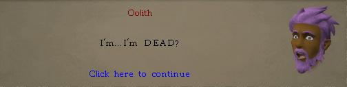 You: I'm, I'm DEAD?