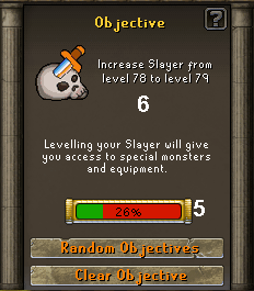 The objective system interface
