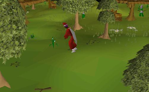 Picking flax