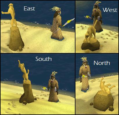 The Evil Bob statues