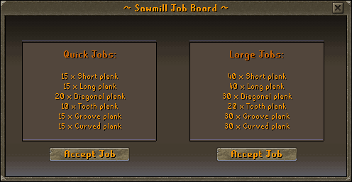 ~ Sawmill Job Board ~